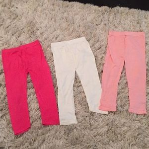 Other - NWOT leggings. Size 5-6. 3 pair pack
